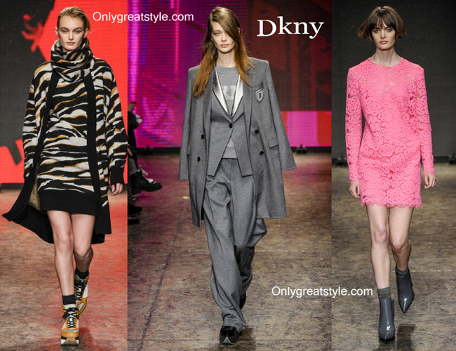 Dkny fashion clothing fall winter