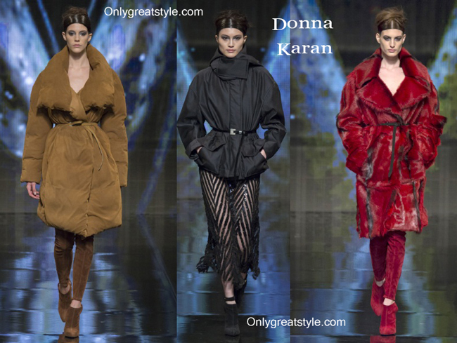 Donna Karan clothing accessories fall winter