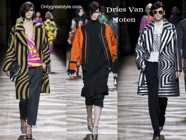 Dries Van Noten clothing accessories fall winter