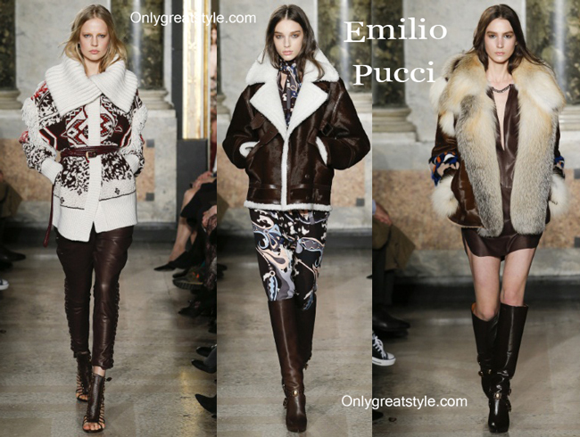 Emilio Pucci clothing accessories fall winter