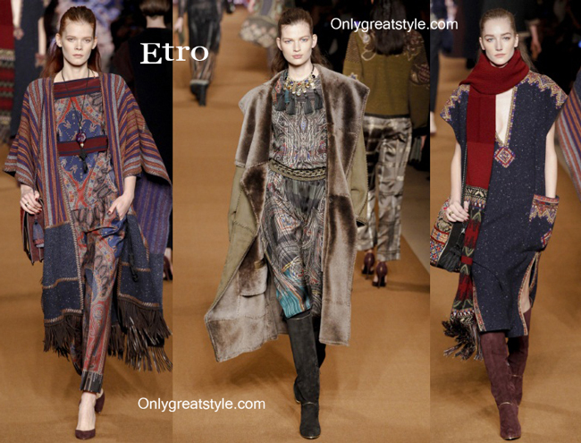 Etro fashion clothing fall winter