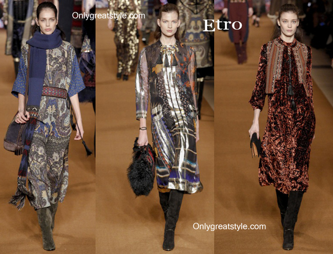 Etro handbags and Etro shoes