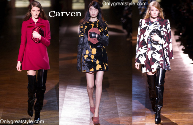 Fashion Carven handbags and Carven shoes