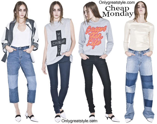 Fashion Cheap Monday denim and Cheap Monday jeans