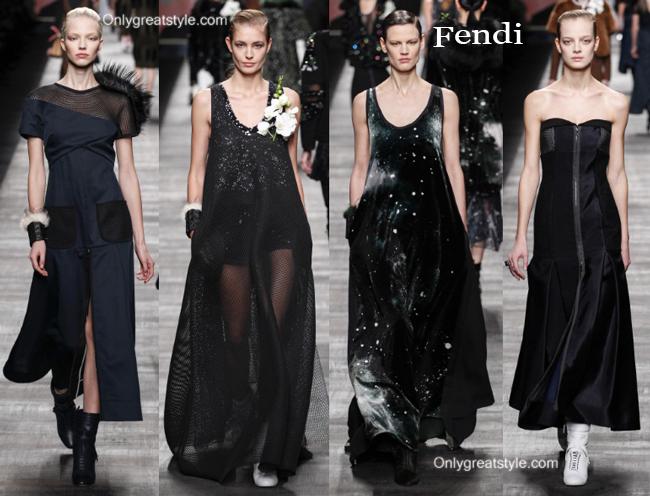 Fendi fashion clothing fall winter