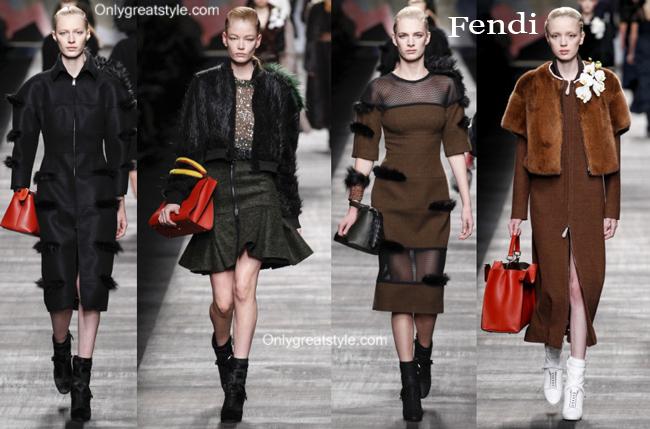 Fendi handbags and Fendi shoes