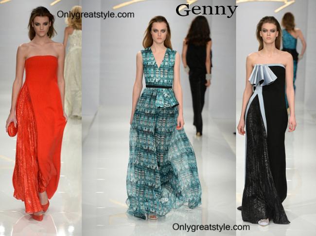 Genny fashion clothing fall winter