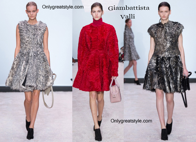 Giambattista Valli clothing accessories fall winter