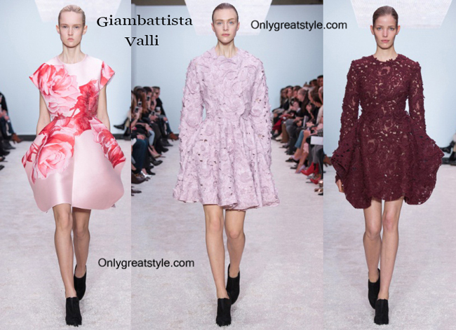 Giambattista Valli fashion clothing fall winter