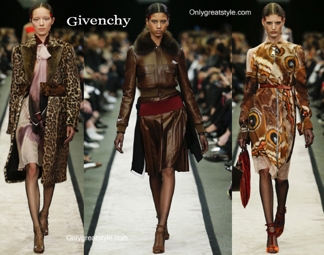 Givenchy clothing accessories fall winter