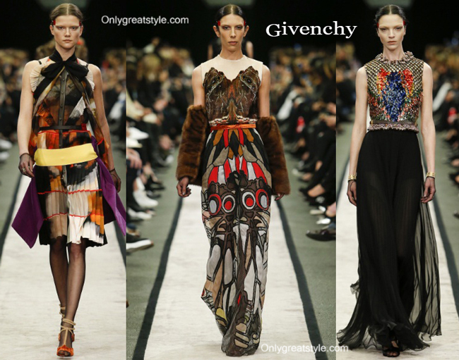 Givenchy fashion clothing fall winter