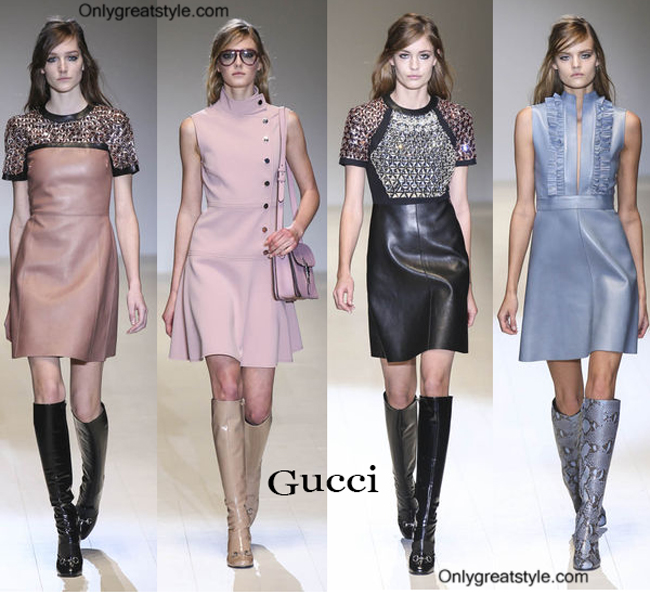 Gucci fashion clothing fall winter
