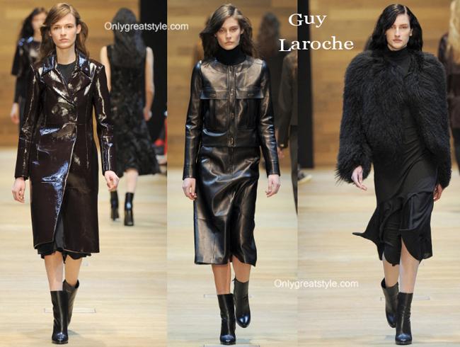 Guy Laroche boots and Guy Laroche furs
