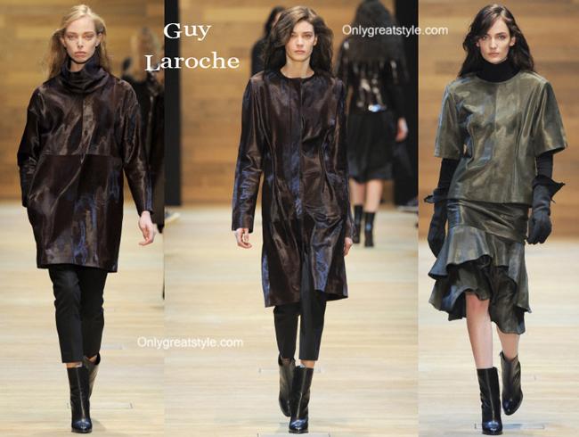 Guy Laroche clothing accessories fall winter