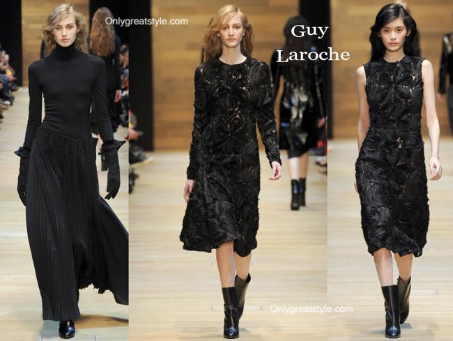 Guy Laroche fashion clothing fall winter