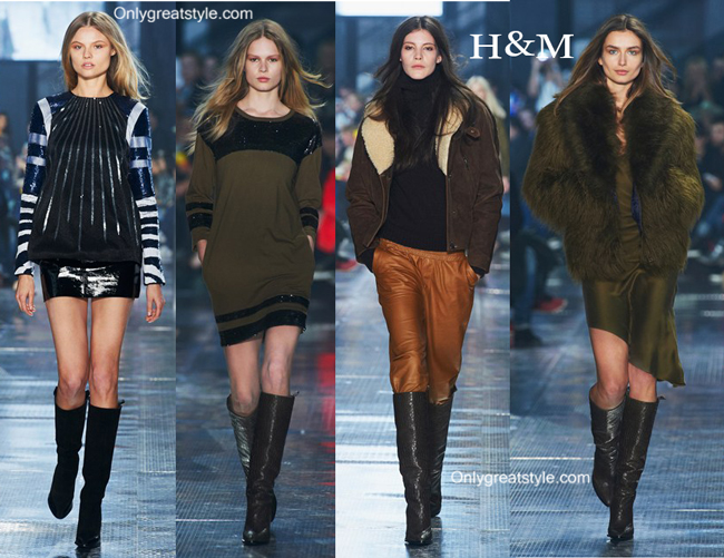 H&M clothing accessories fall winter