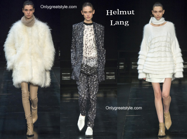 Helmut Lang clothing accessories fall winter