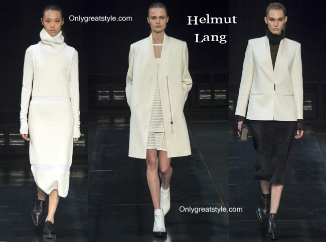Helmut Lang fashion clothing fall winter