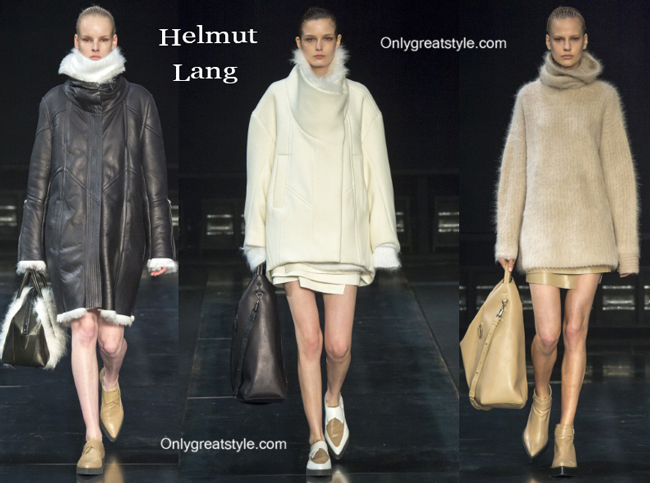 Helmut Lang handbags and Helmut Lang shoes