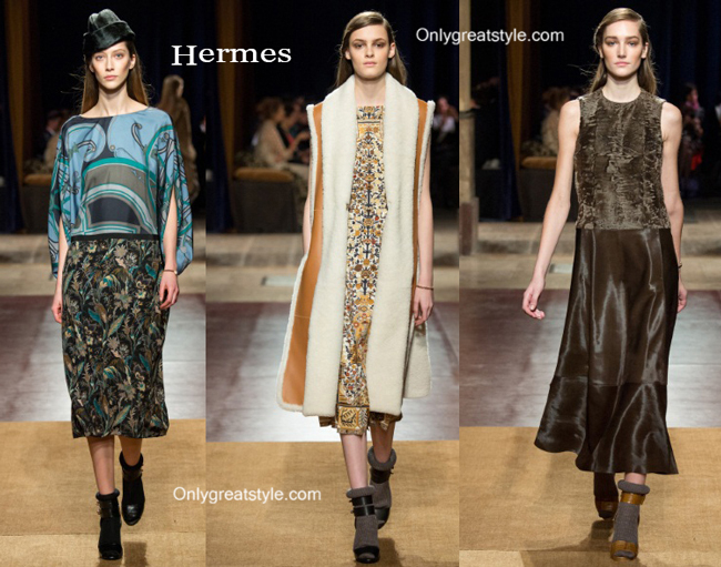 Hermes clothing accessories fall winter