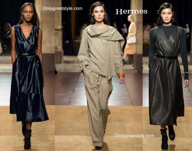 Hermes fashion clothing fall winter