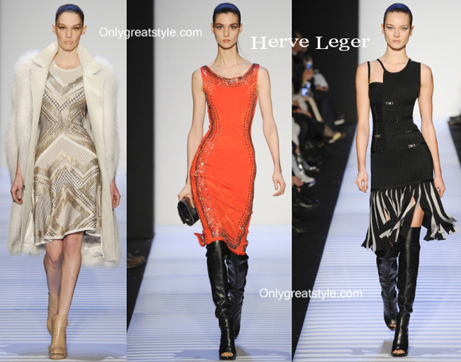 Herve Leger handbags and Herve Leger shoes