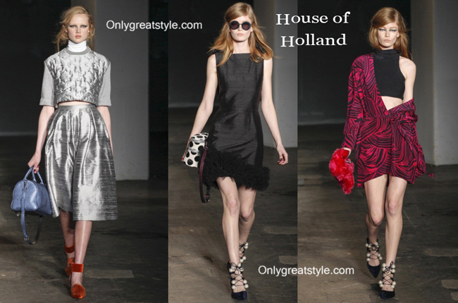 House of Holland fashion clothing fall winter