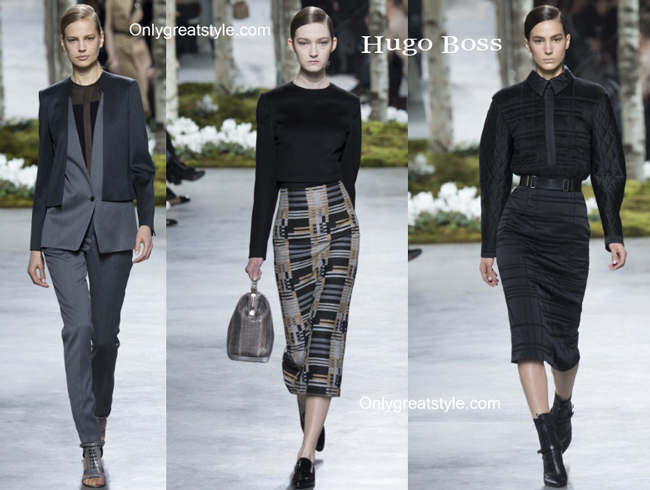 Hugo Boss fashion clothing fall winter
