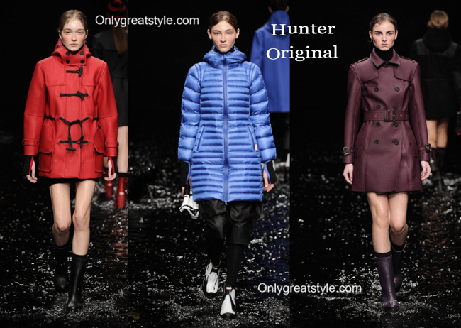Hunter Original fashion clothing fall winter