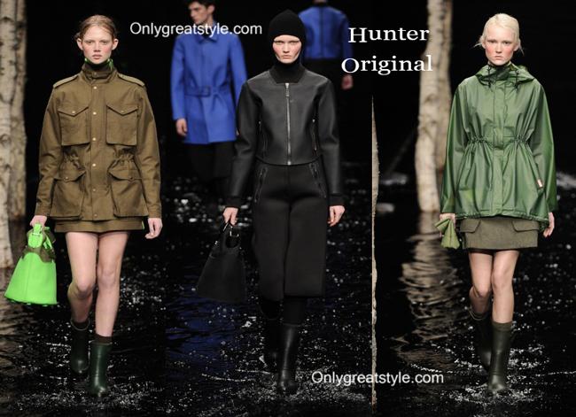 Hunter Original handbags and Hunter Original shoes