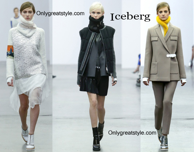 Iceberg fashion clothing fall winter