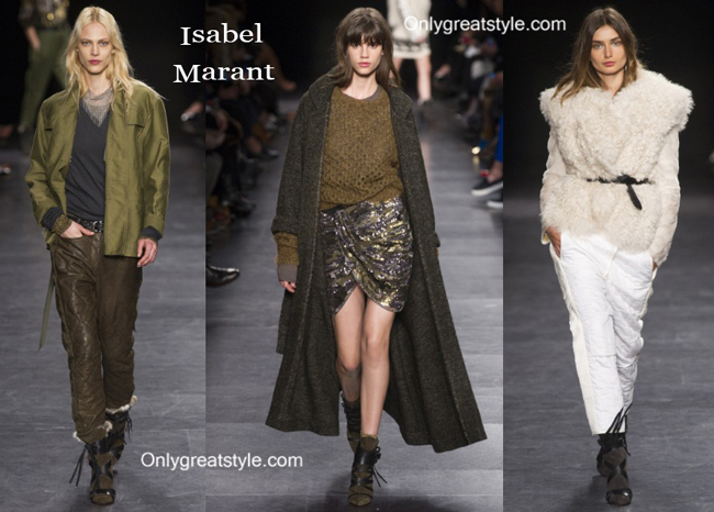Isabel Marant clothing accessories fall winter