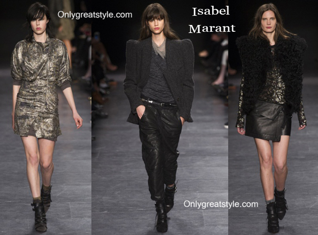 Isabel Marant fashion clothing fall winter