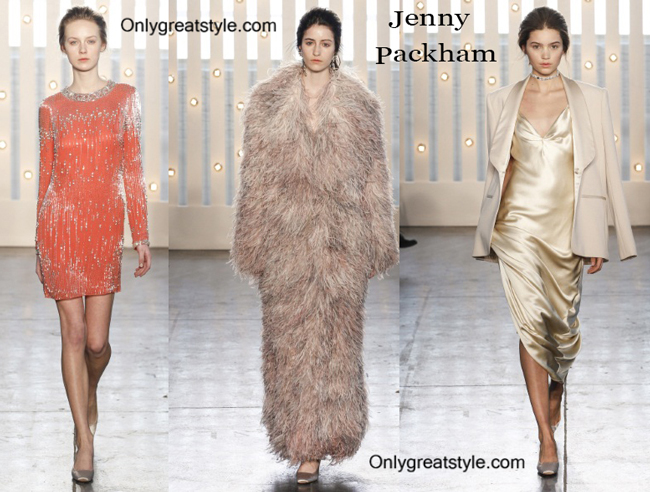 Jenny Packham clothing accessories fall winter
