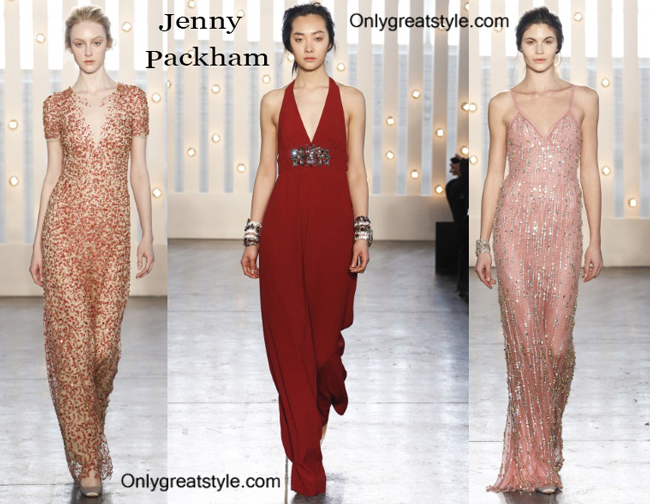 Jenny Packham fashion clothing fall winter