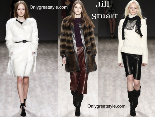 Jill Stuart clothing accessories fall winter