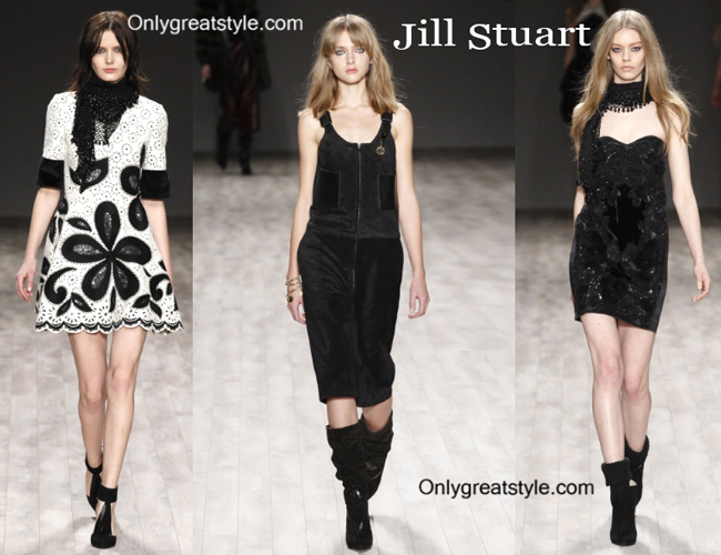 Jill Stuart fashion clothing fall winter