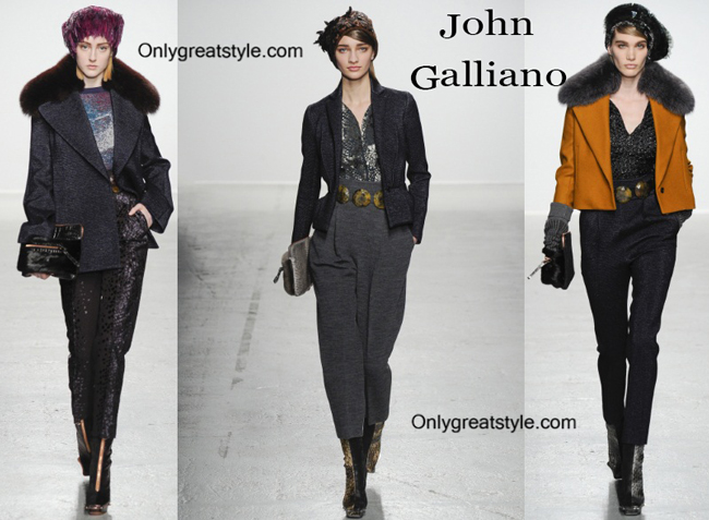 John Galliano handbags and John Galliano shoes