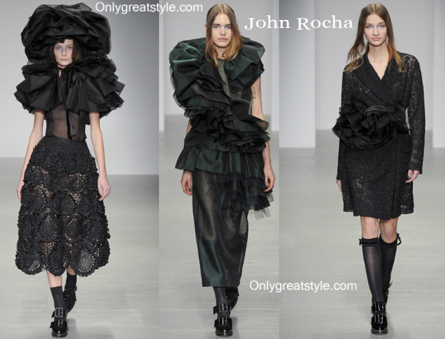 John Rocha clothing accessories fall winter