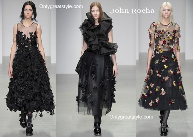 John Rocha fashion clothing fall winter