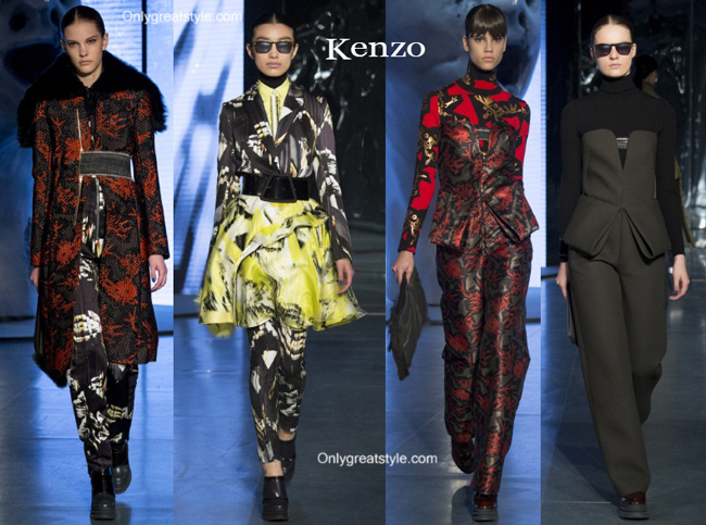 Kenzo clothing accessories fall winter