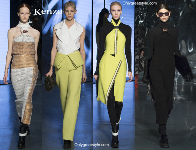 Kenzo fashion clothing fall winter