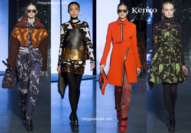 Kenzo handbags and Kenzo shoes