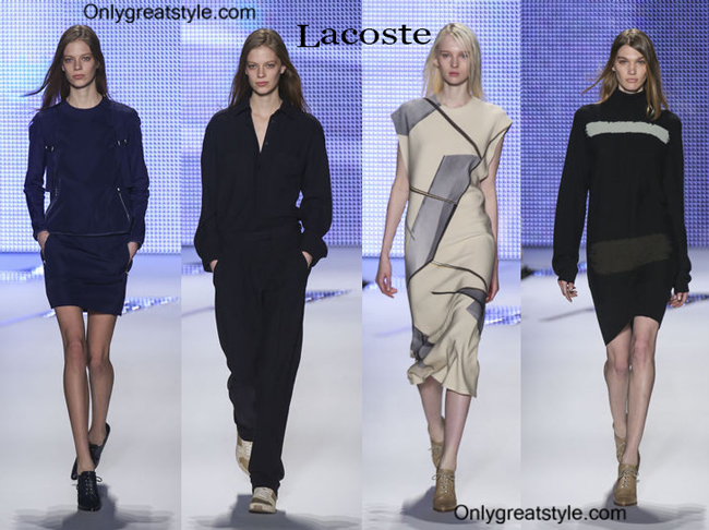 Lacoste fashion clothing fall winter