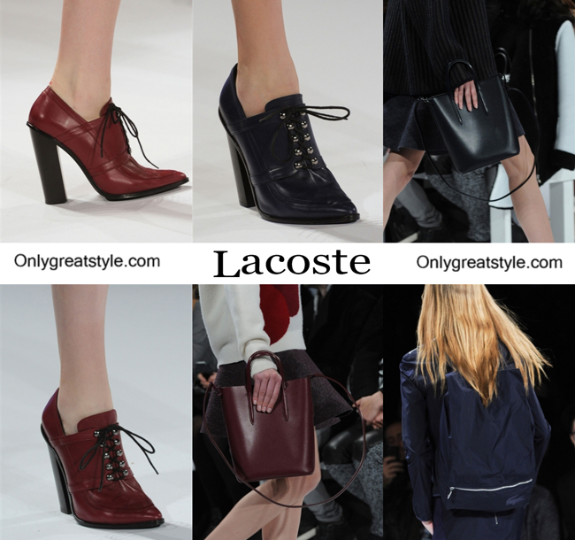 Lacoste handbags and Lacoste shoes
