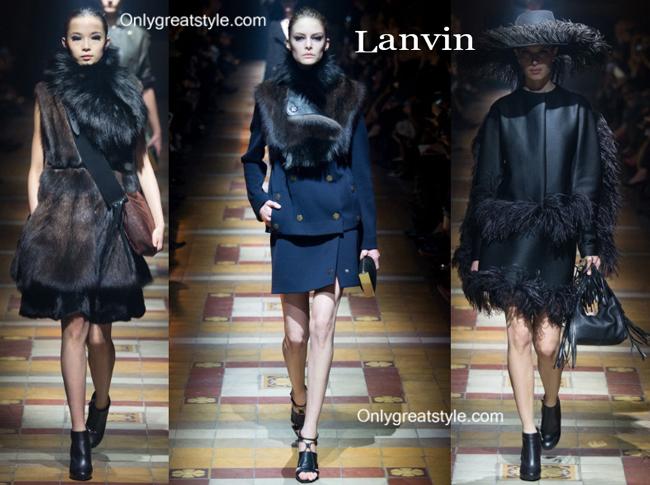 Lanvin handbags and Lanvin shoes