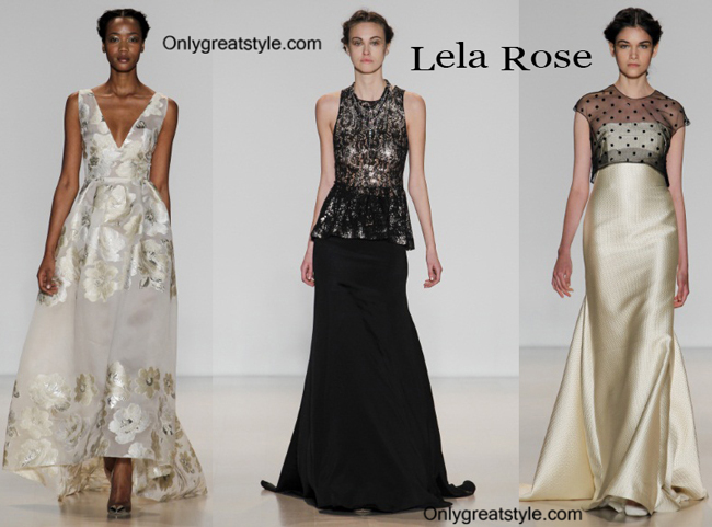 Lela Rose ceremony dress fall winter