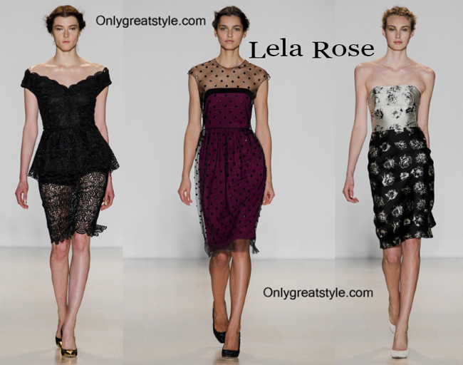 Lela Rose décolleté and Lela Rose shoes