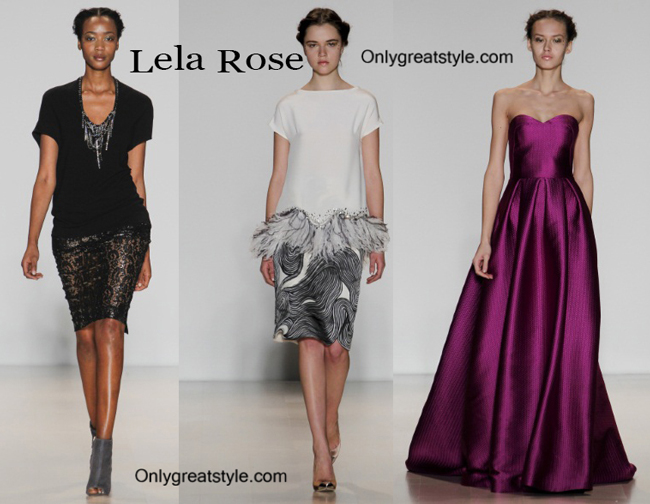 Lela Rose fashion clothing fall winter