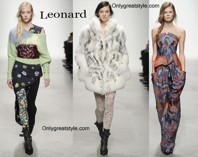 Leonard clothing accessories fall winter